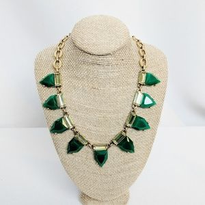 Stella & Dot Emerald Green Diamond Stones